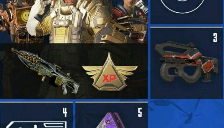 پاداش لول های مختلف بتل پس (Battle Pass Rewards) در فصل دوم Apex Legends