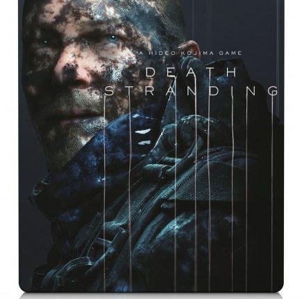 طرح روی جلد بازی Death Stranding برای کنسول PS4