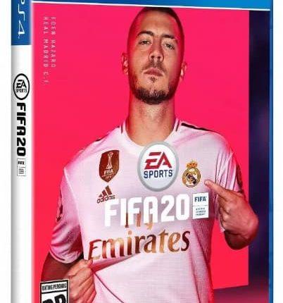 ادن هازارد: طرح روی جلد بازی FIFA 20