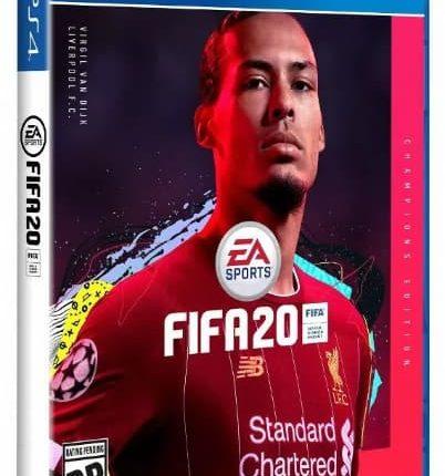 ویرجیل فن دایک: طرح روی جلد بازی FIFA 20