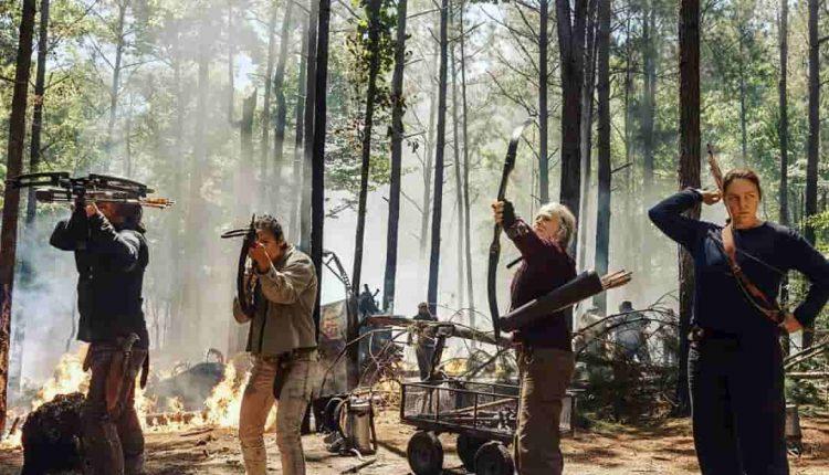 عکس های جدید فصل 10 The Walking Dead
