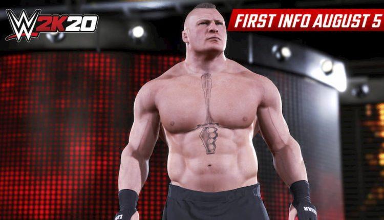اولین عکس های بازی WWE 2k20 | براک لزنر، قهرمان جهان مردان WWE