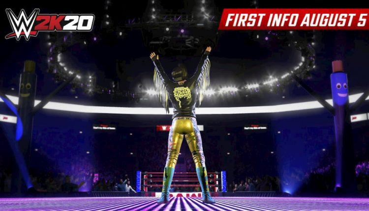 اولین عکس های بازی WWE 2k20 | بایلی، قهرمان جهان زنان WWE