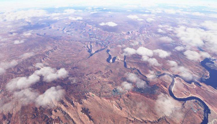 عکس های جدید Microsoft Flight Simulator