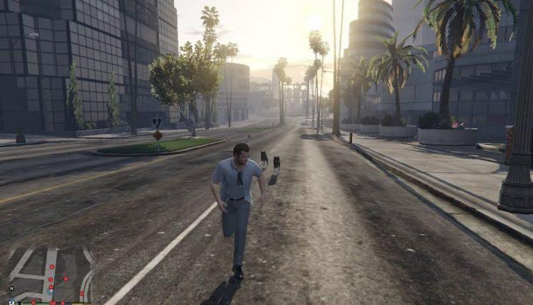 تصاویری از ماد Grand Theft Zombies جی تی آی وی