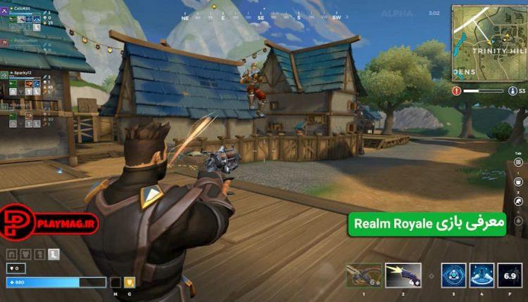 تصاویری از مکانیزم و گیم پلی بازی ریلم رویال (Realm Royale) و نکاتی که در معرفی بازی گفته شد
