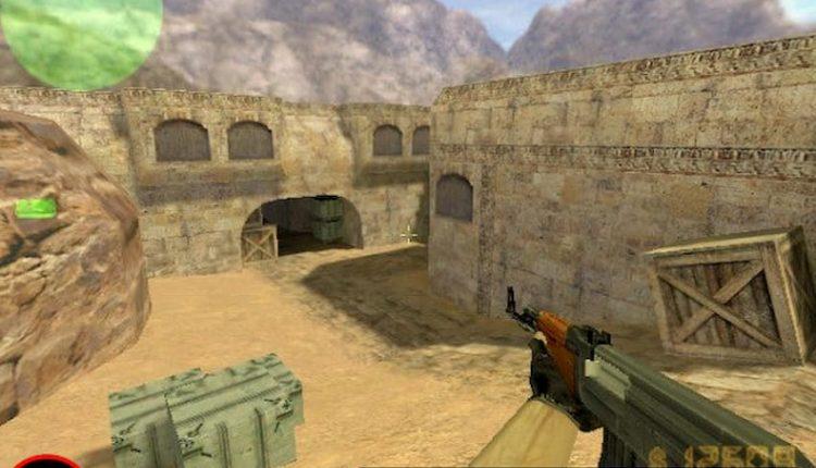 عکس از بازی آنلاین CS 1.6