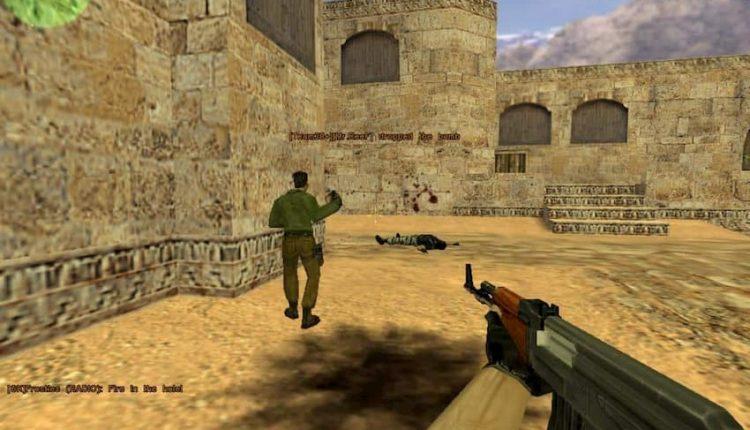 عکس از محیط بازی Counter Strike 1.6 PC