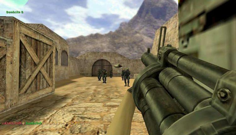 عکس از گیم پلی نسخه آنلاین بازی کانتر استریک 1.6