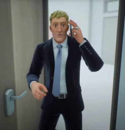 تصویری از اسکین لو رفته تحت عنوان Agent Jonsey