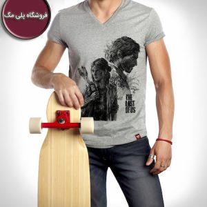 خرید اولین طرح از تی شرت طرح گیمینگ الی و جوئل بازی The Last of Us از فروشگاه پلی مگ با قیمت بسیار ارزان و طرح هنری و ارسال سراسر ایران