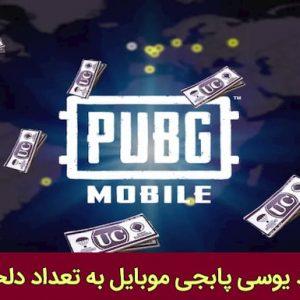 خرید یوسی پابجی موبایل با قیمت ارزان و تحویل فوری | UC بازی PUBG MOBILE | یوسی به تعداد دلخواه و فعال سازی سریع